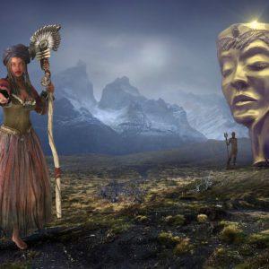 fantasy, landscape, mystical