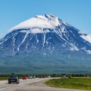 kamchatka, volcano, landscape