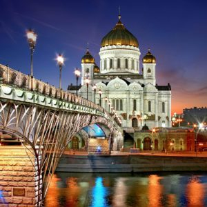 moscow, cathedral of christ the saviour, russia