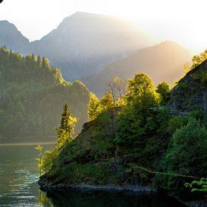 ritsa, lake, abkhazia